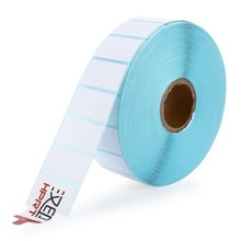 Label Paper  HPRT label thermal printing paper 25*15*2300PCS Waterproof bar code printing paper Sticker label printing paper