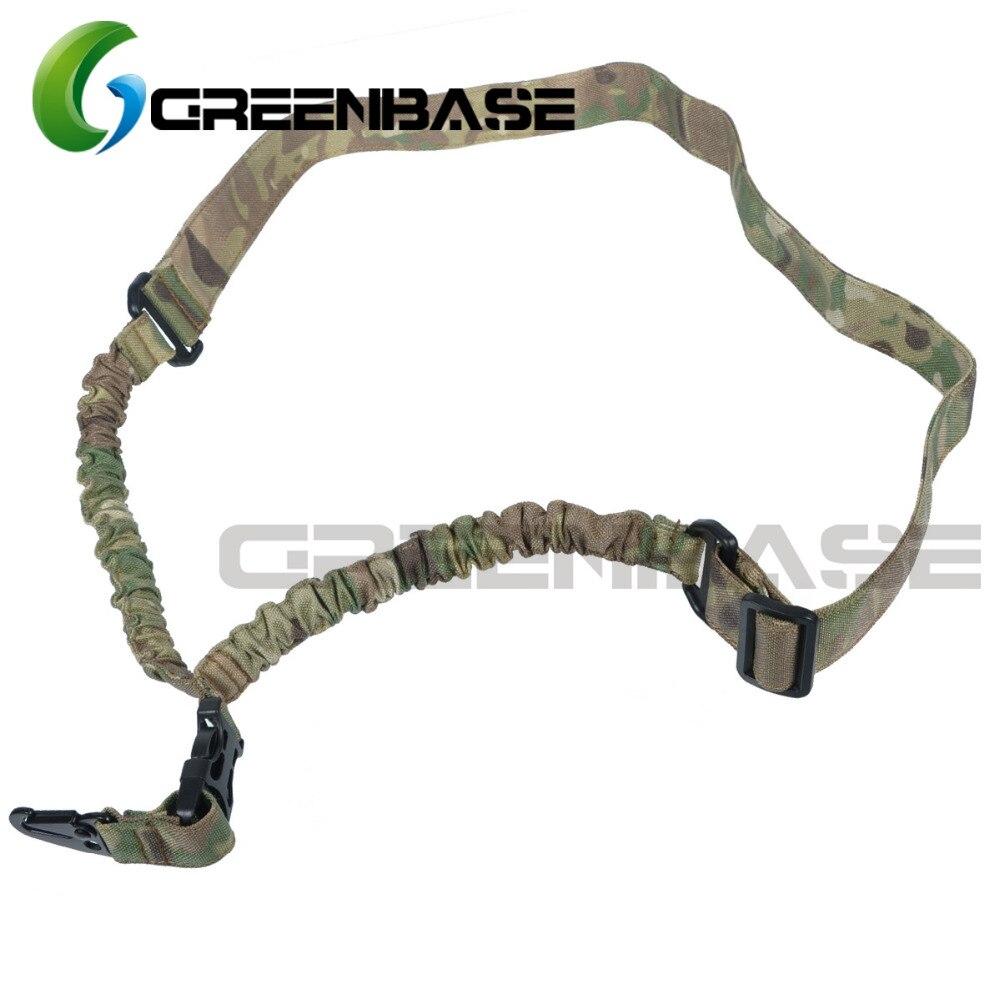 Greenbase táctico arma Honda tejido Cordura un punto Sling para la caza de Honda de airsoft Multicam/ACU