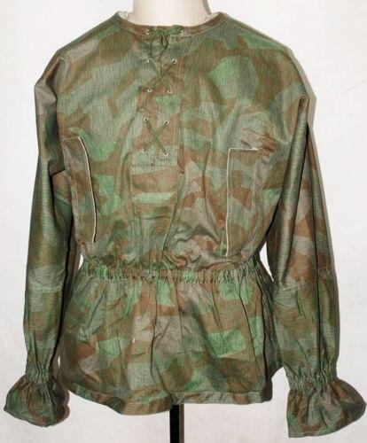 WWII WW2 GERMAN SOLDIER WH SPLINTER REVERSIBLE CAMO SMOCK MILITARY UNIFORM- World military Store