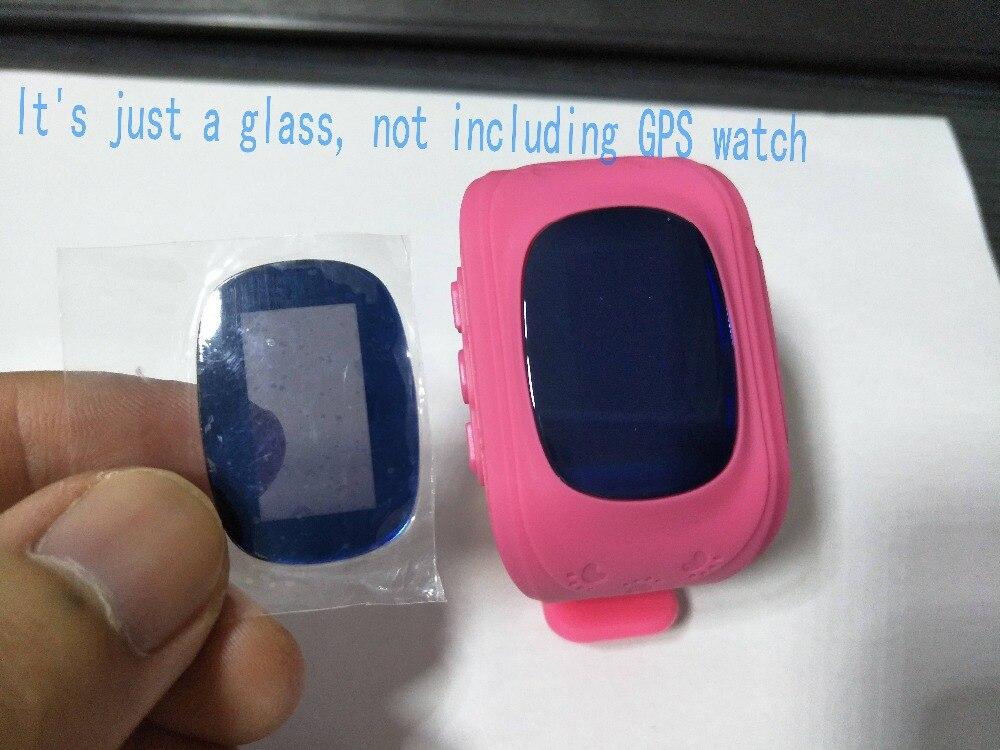 Relojes de vidrio para relojes de seguimiento con GPS Q50 material de zafiro con espejo de cristal de pantalla