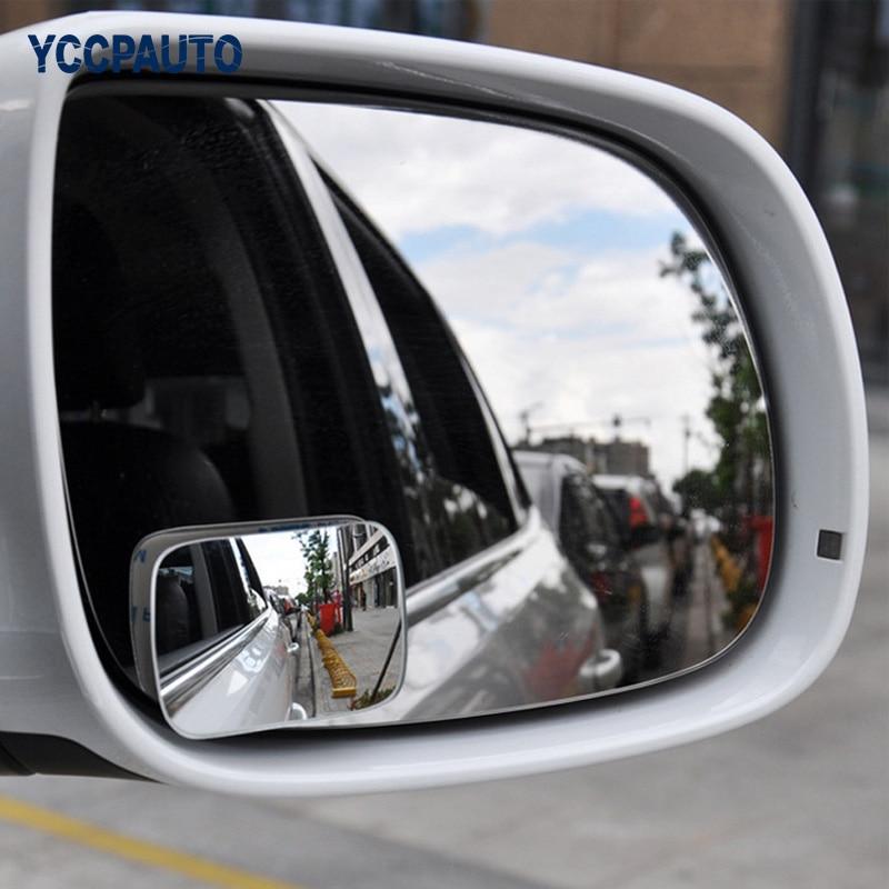 2 шт Универсальный зеркало автомобиля HD Стекло слепое пятно зеркало 360 градусов Регулируемый Широкий формат парковка зеркало заднего вида