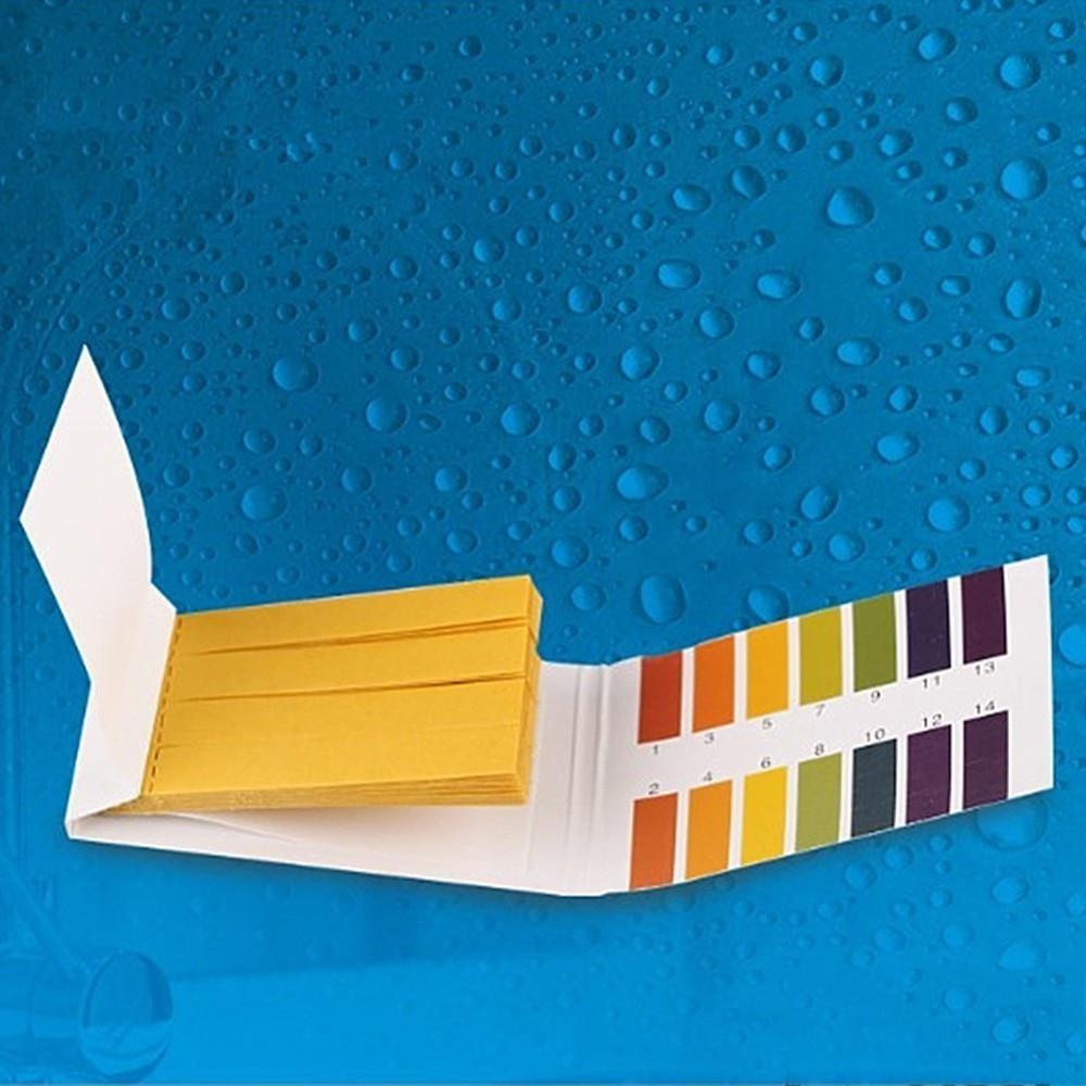 Aquarium Water pH Test Strips Universal Full Range Litmus Paper 1-14 Acidic Alkaline Indicator Food Urine Lab Soil Body Tester