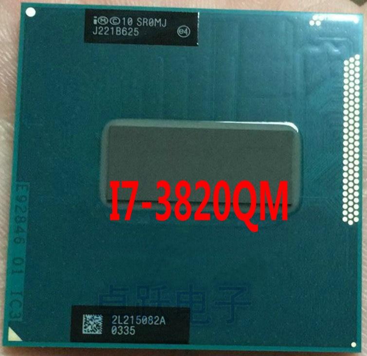 Процессор Intel SR0MJ i7-3820QM Core i7, мобильный процессор i7 3820QM, ноутбук, процессор 8 Мб PGA 2,7 ГГц до 3,7 ГГц, бесплатная доставка