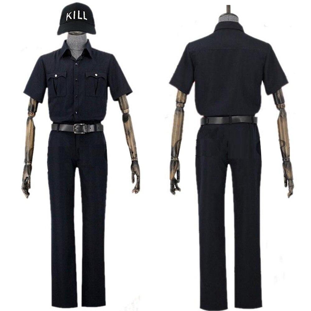 Células en el trabajo Killert Cell animé japonés Hataraku Saibo White Blood Killer T Cell plaqueta Cosplay traje de uniforme escolar