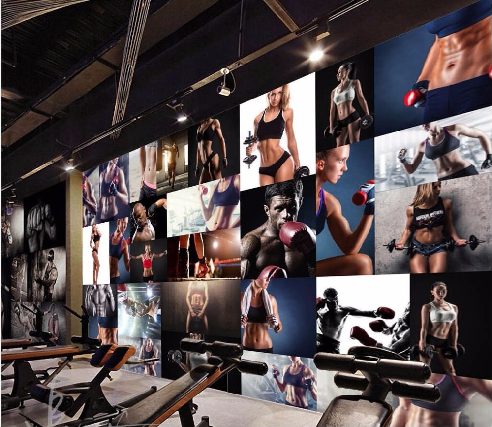 3d обои на заказ, фотообои для спортзала, фитнеса, картина на боксерскую тематику, 3d Настенные обои для стен, 3 d, декор для гостиной, дома