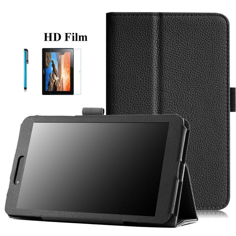 Litchi PU Leder Stehen Abdeckung Für LG Gpad 7 V400 7 zoll Tablet Fall Für LG V400 Fundas Fall Abdeckung für Lg V 400 7,0 zoll + Film