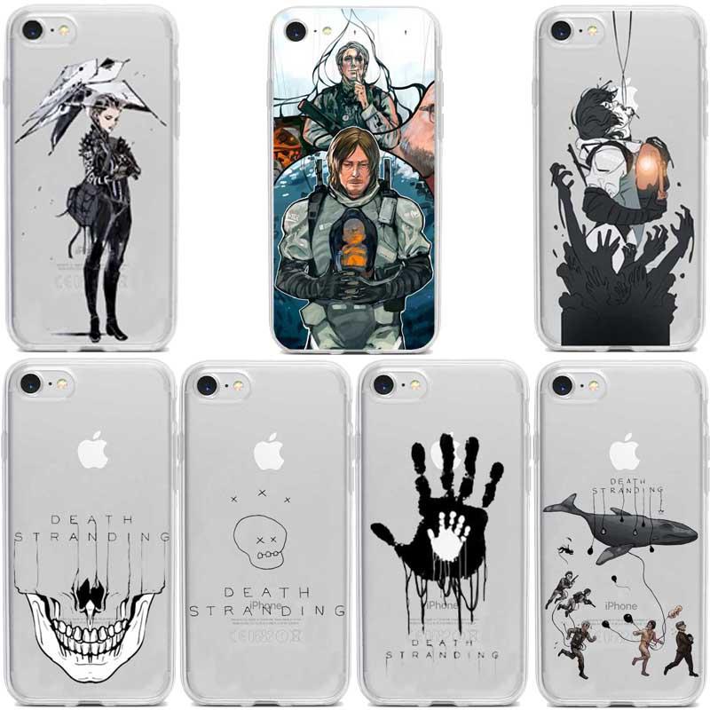 Death Stranding-funda de silicona TPU para teléfono móvil, Suave, para iphone 5,...