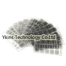 14 pcs/set efix IP BGA Stencil Solder Mask Ink Tool Kit for Fix Repair iPhone iPad NAND Flash Power Touch IC Chip