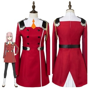 Anime DARLING in the FRANXX Cosplay ZERO TWO CODE 002 Cosplay Costume