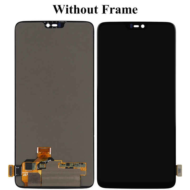 For Oneplus 6 Six LCD Display With Touch Screen Assembly Replacement With Frame For Oneplus 6 Six LCD 1+ With Tools enlarge