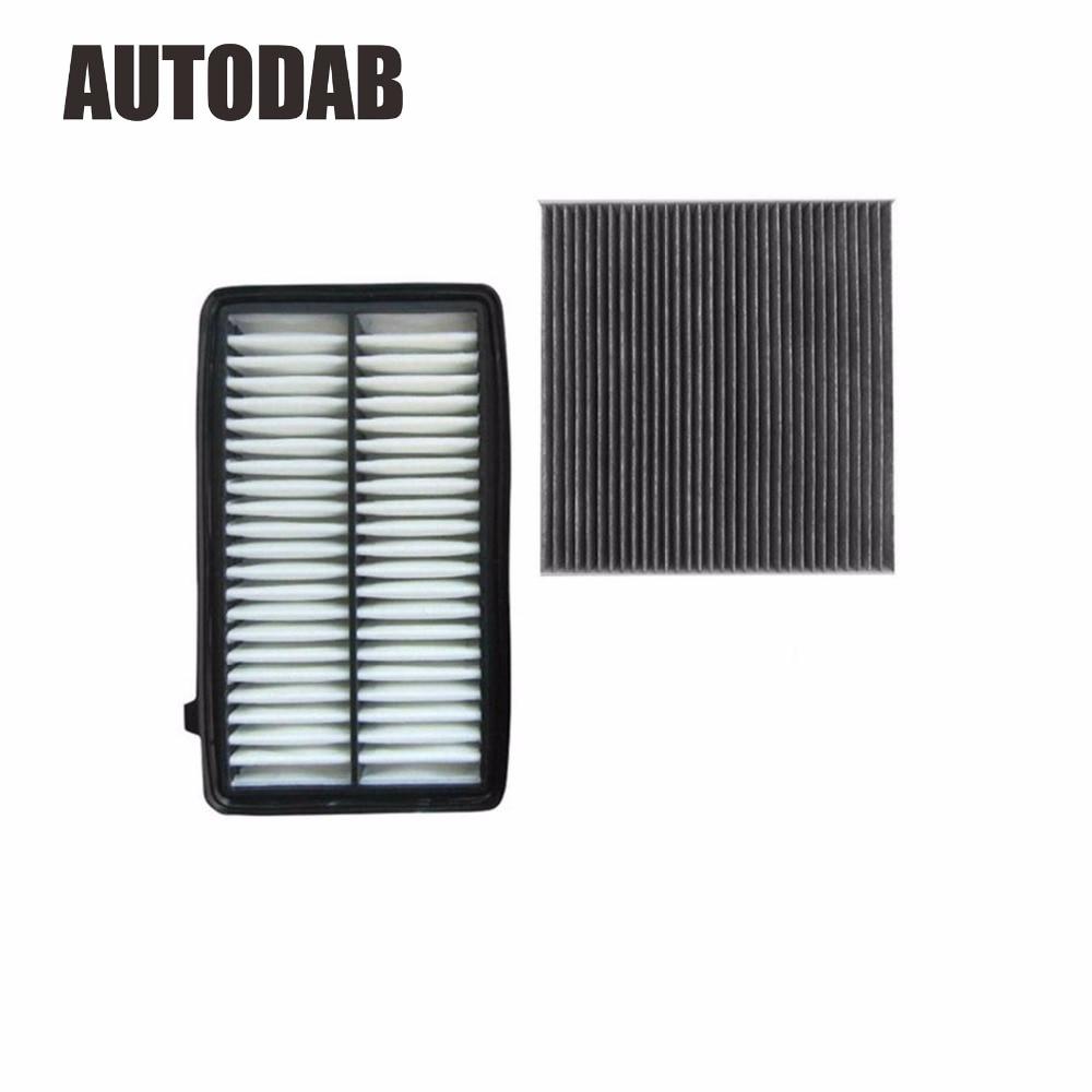 2pcs Hohe Qualität luftfilter kabine filter für Honda Jade 1,8 L großhandel außenhandel filter