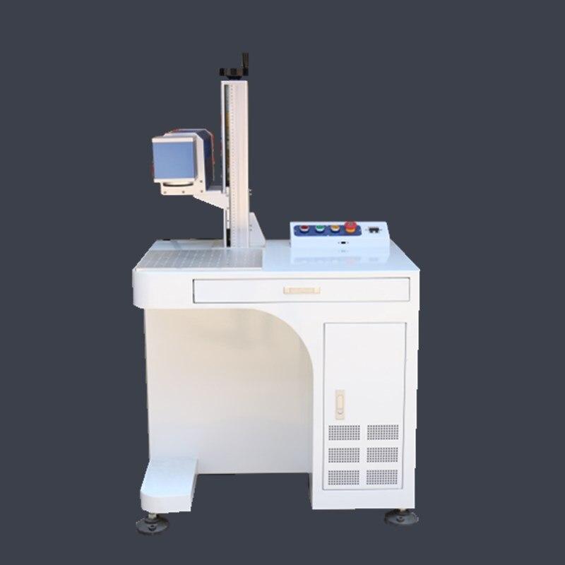 Máquina marcadora láser de dióxido de carbono RF 30W, máquina marcadora de madera cerámica no metálica, envío gratis 10/20 veces spot