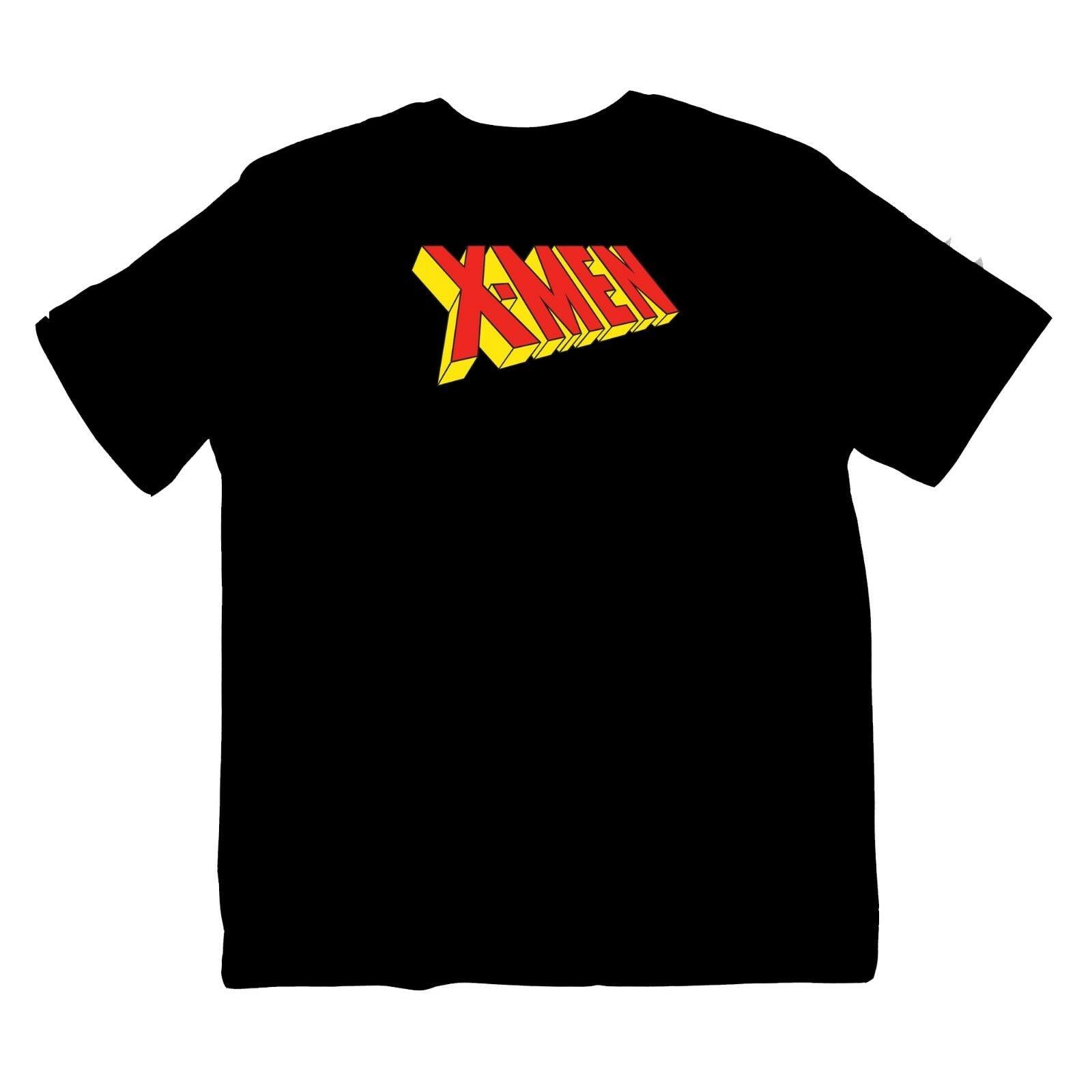 Camiseta x-men con logo de Marvel MCU Cheez TV 90, Camiseta animada de dibujos animados, S-XXXL Camiseta con estampado de color, camiseta de moda de manga corta