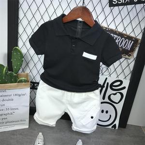 Summer Kids Clothes Baby Boys Clothing Set Toddler Boy Clothing Boutique Children 2-6years Kids Boys shirt + shorts 2Pcs set