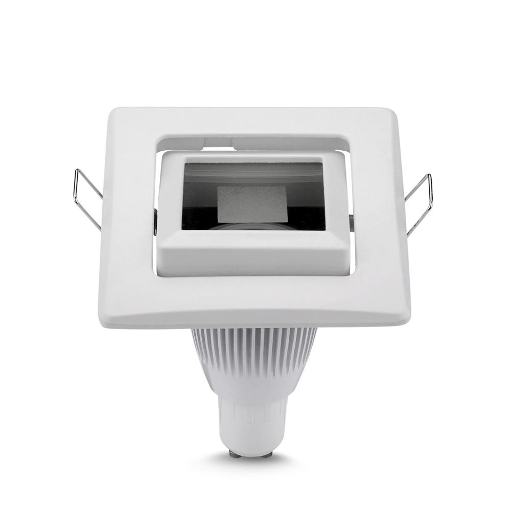 2 uds lámpara para proyector GU10 Pin Bi hembra corte agujero 85mm...