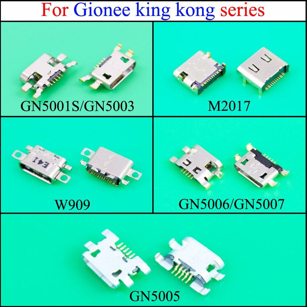 YuXi Micro USB conector de carga Puerto USB Jack hembra para Gionee king kong GN5001S/GN5003/M2017/W909/GN5006/GN5007/GN5005