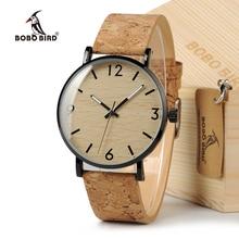 BOBO BIRD femmes Vintage Design marque de luxe en bois bambou montres dames montre avec montre à Quartz en cuir véritable dans une boîte-cadeau