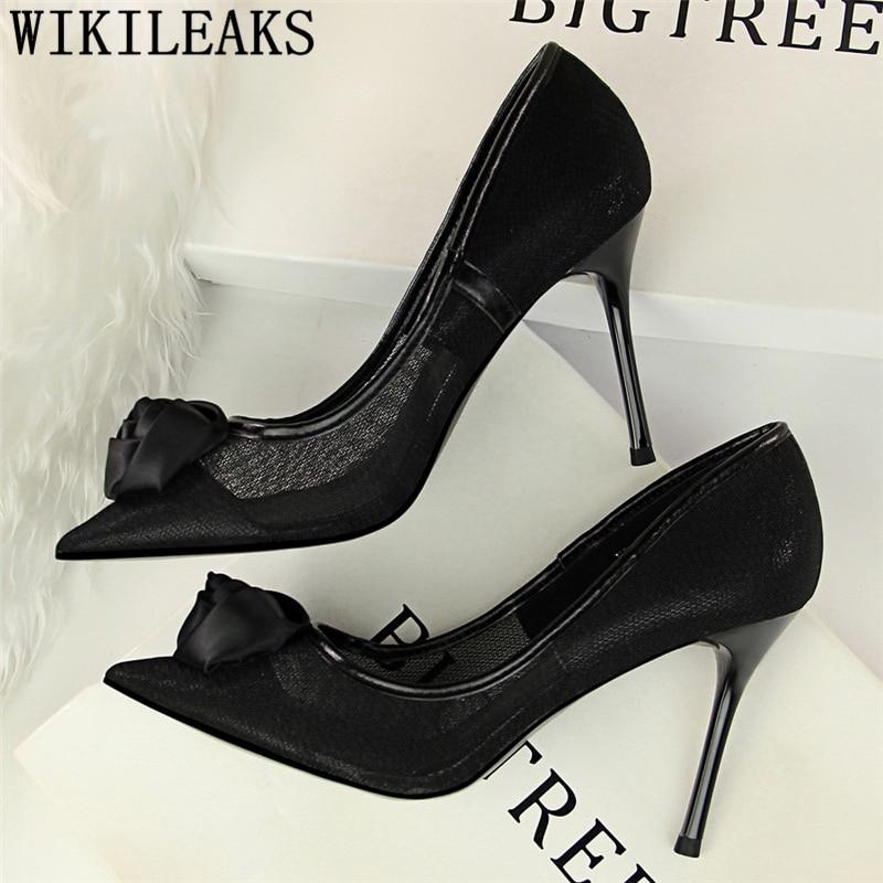 Zapatos mujer italianos tacón alto diseñador tacones sexy vestido zapatos Mujer zapatos...