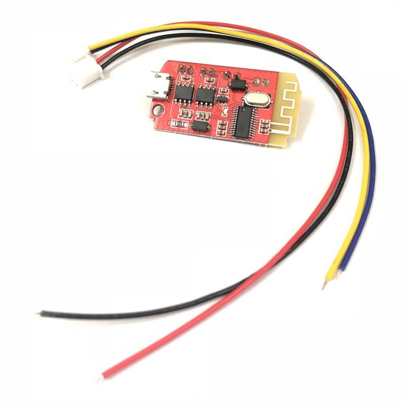 Ct14 Micro-4.2 Placa de amplificador de potencia estéreo módulo Bluetooth 5Vf 5 W + 5 W Mini con puerto de carga para sonido caja lento Reassemb