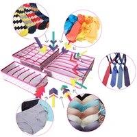 foldable storage bag box underwear organizer bra tie socks clothes storage box closet organizer storage drawer dividers case