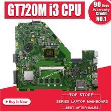 For ASUS X550C X552C X550CC R510CC DDR3 Laptop Motherboard GT 720M 2GB I3 CPU 4GB  RAM HM76 X550CC REV:2.0  100% Tested