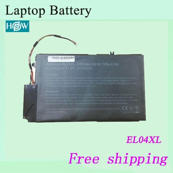 Baterías de repuesto para HP ENVY 4-1020TX 4-1040TX 4-1000 EL04XL 681879-541 batería para ordenador portátil 14,8 V 52WH