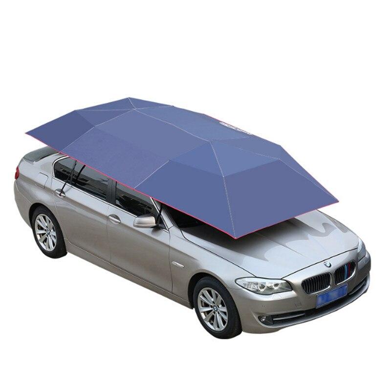 VEVOR, paraguas de coche impermeable automático para exteriores, cubierta de automóvil, Control Remoto Portátil