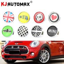 Mini Cooper-emblème de calandre métallique   Set de badges autocollants, Countryman Clubman R55 R56 R57 R58 R59 R60 R61 F55 F56
