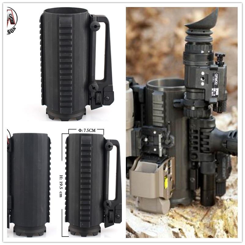 Taza de batalla táctica, taza de batalla táctica, cinturón M4 promocional (taza grande), envío gratis