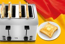 Bread Toaster Multi-functional Bread Maker Automatic Household Toasting Machine Stainless Steel Break Baker THT-3012B