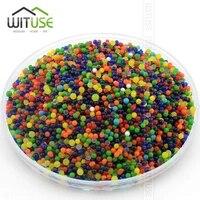 Perles deau de sol en cristal  10000 particules lot  en forme de perle  culture de boue  boules de gelee magique  decoration de mariage  de maison  Hydrogel