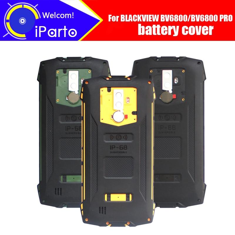 5.7 inch BLACKVIEW BV6800 Battery Cover 100% Original New Durable Back Case Mobile Phone Accessory for BLACKVIEW BV6800 PRO