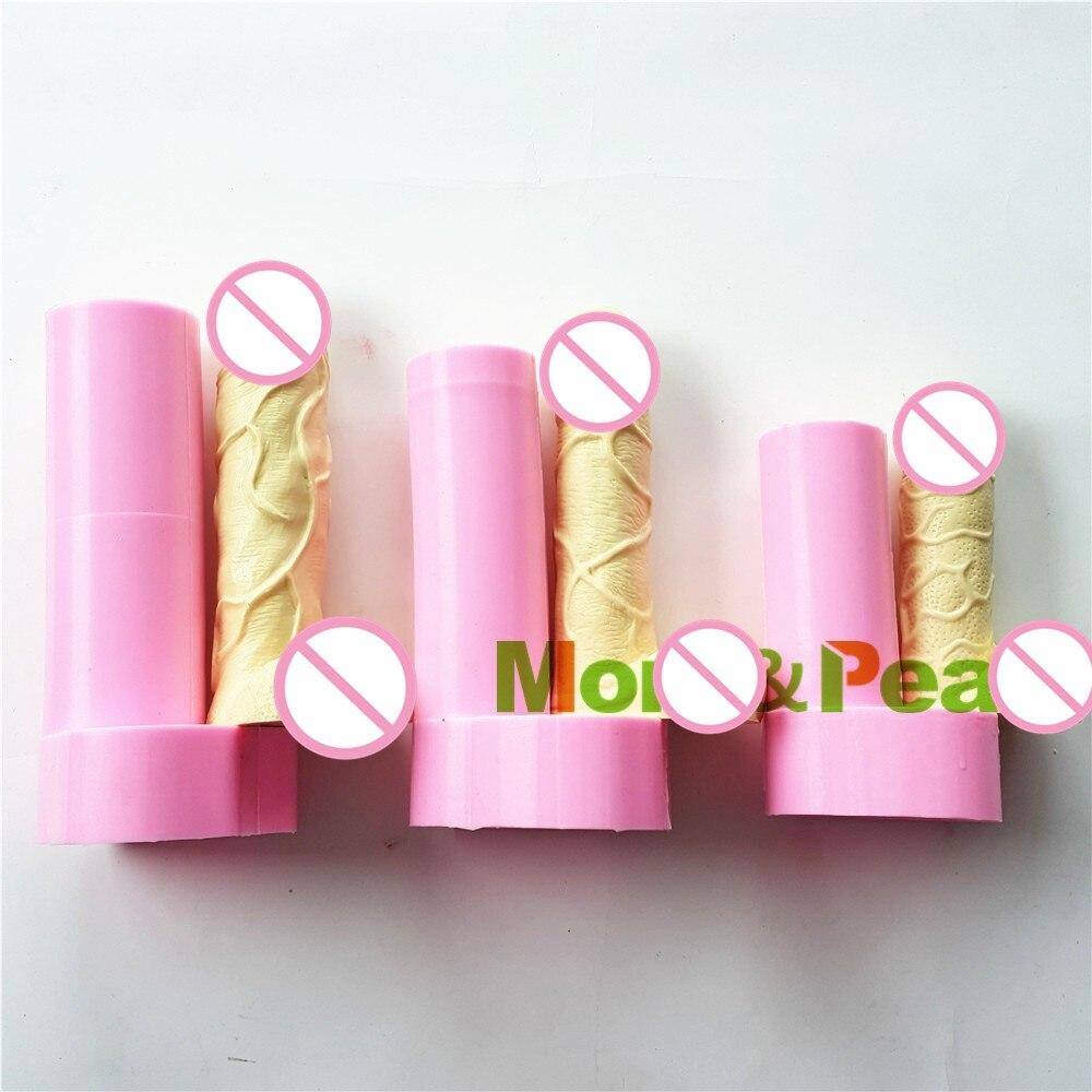 Mom & Pea 1049-51 силиконовая форма для пениса темперамент и интерес украшения торта помадка 3D форма для торта пищевой