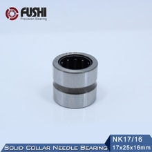 NK17/16 Bearing 17*25*16 mm ( 5 PC ) Solid Collar Needle Roller Bearings Without Inner Ring NK17/16 NK1716 644903K Bearing
