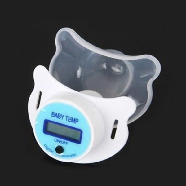 Zdrowie Monitory Smoczek Dla Niemowląt Termometr Termometro Testa LCD Cyfrowy Usta Sutek Smoczek Chupeta Dziecko Smoczek Nowy 9