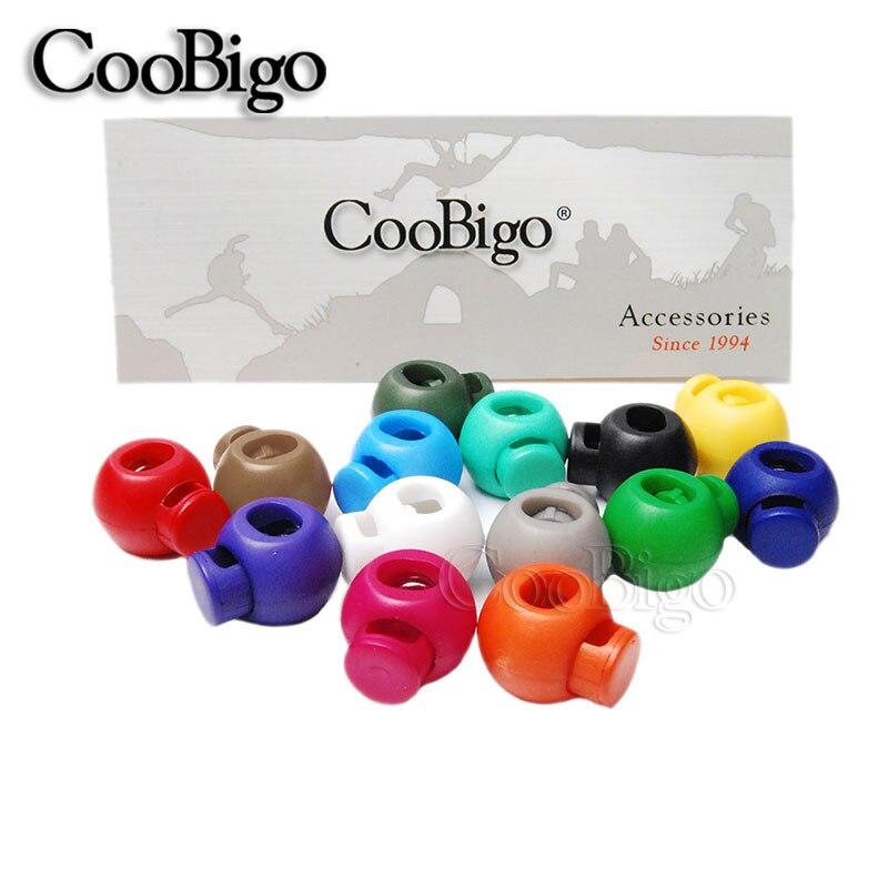 12 шт разноцветные Круглые шаровые шнурки с фиксатором, Пружинные стопорные стопоры, Спортивная веревка, шнурки, аксессуары для рукоделия