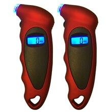Voiture numérique pneu manomètre outil voiture moto vélo Mini numérique pneu jauge pneu Diagnostic LCD affichage