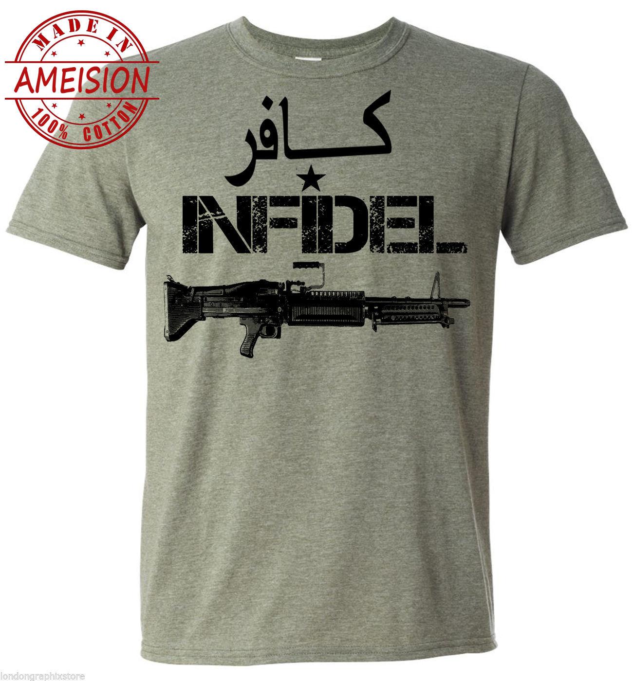 Nueva camiseta militar de moda para hombre de verano 2019, camiseta USMC, ejército, veteranos, guerra de Iraq, camiseta de Afghanistan