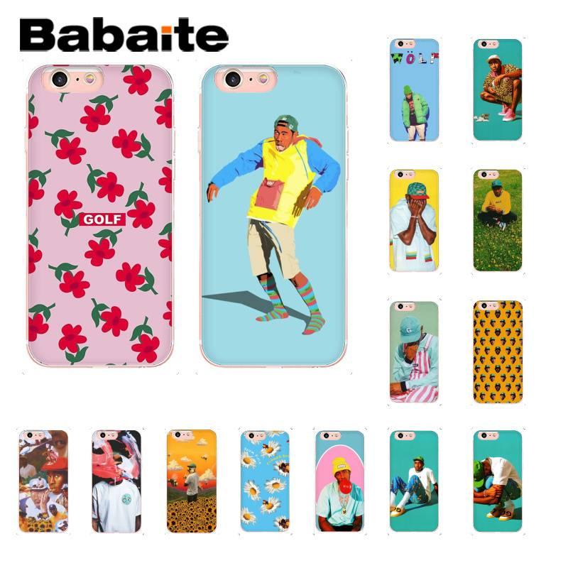 Модный чехол для телефона Babaite tyler the creator flower boy Golf Wang для iPhone8 7 6 6S 6Plus X XS MAX 5 5S SE XR 11 11pro 11promax