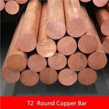 Tige de cuivre YT1359B longueur 100mm   Diamètre, bâton de cuivre 20mm, livraison gratuite à perte T2 barre de cuivre, bricolage 1 pièce/lot