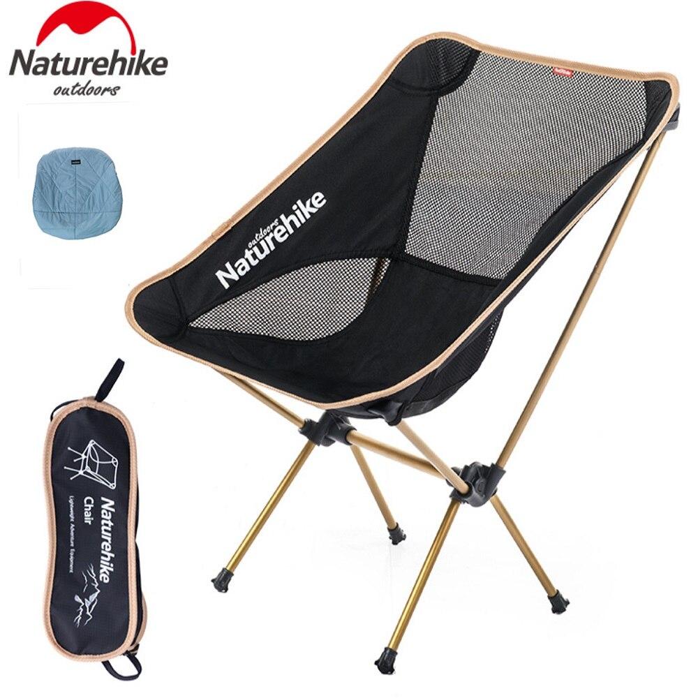 Naturehike-Venta de fábrica, silla plegable y ligera, portátil, de gran calidad, para acampada y fiestas de Picnic
