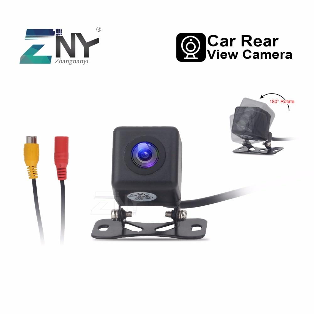 Cámara de visión trasera de coche Universal cámara de respaldo de estacionamiento automático visión nocturna impermeable 170 grados vista panorámica 480 líneas de TV