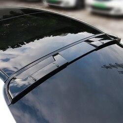 Para benz w205 roof spoiler para mercedes w205 roof spoiler 4-door sedan c63 c180 c200 c250 c260 abs plástico spoiler 2015 a 2018