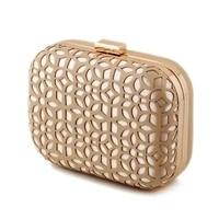 metal patchwork shinning shoulder bags ladies print day clutch wedding party evening bags purse luxury fashion women handbags