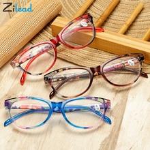 Zilead oeil de chat femmes lunettes de lecture hommes résine Anti Fatigue lecture-glasse presbyte femmes lunettes transparentes lunettes