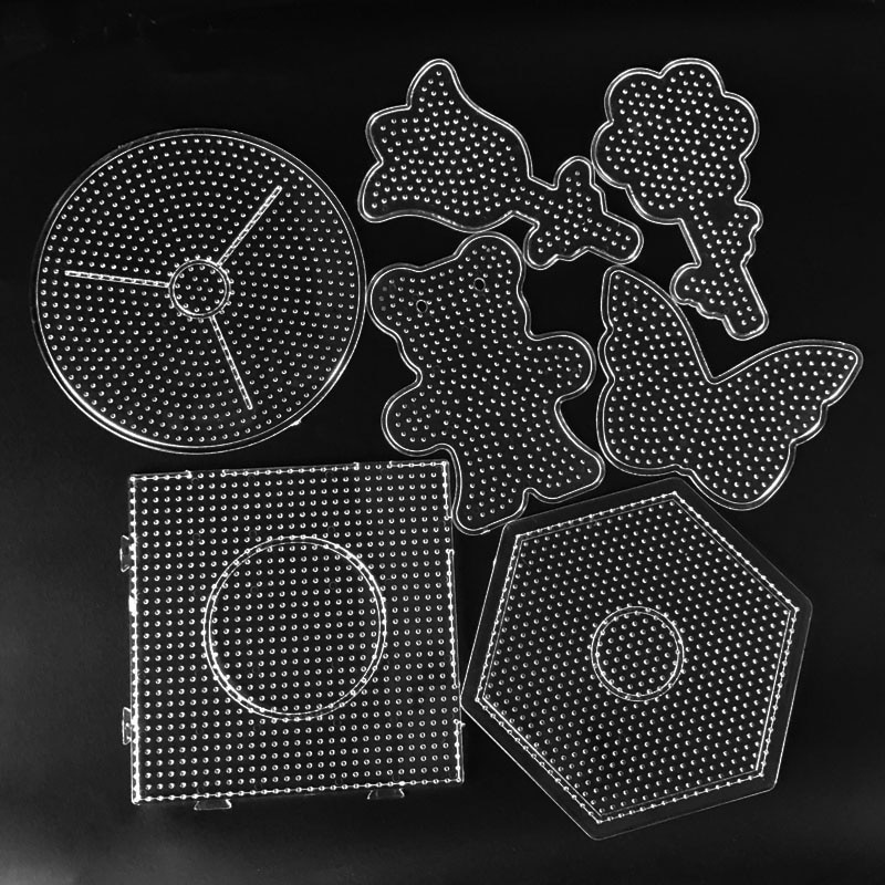 5 мм Хама бисер шаблон игрушка Сделай Сам пукоу бисер инструмент обучающая головоломка Танграм шаблон детская игрушка
