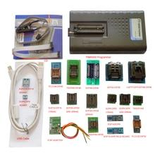 2019 nouveau programmeur USB EPROM TNM5000 + 18 prises pc + pince IC pour flash NAND/EPROM/MCU/PLD/FPGA/fai/JTAG, prise en charge K9GAG08U0E