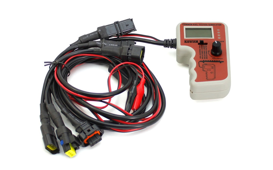 CR508 probador y simulador de presión de Common Rail para Bosch/Delphi/Denso, herramienta de prueba del Sensor, herramientas de diagnóstico, Envío Gratis