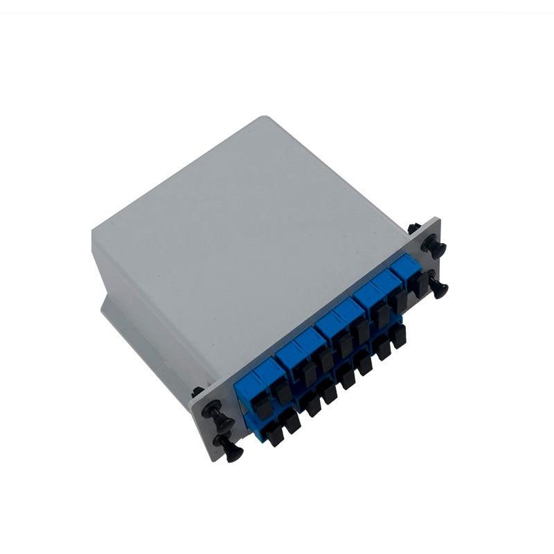 Divisor PLC tipo Cassette 1*16 inserción/LGX/divisor de PLC de fibra óptica SC/UPC/10 piezas