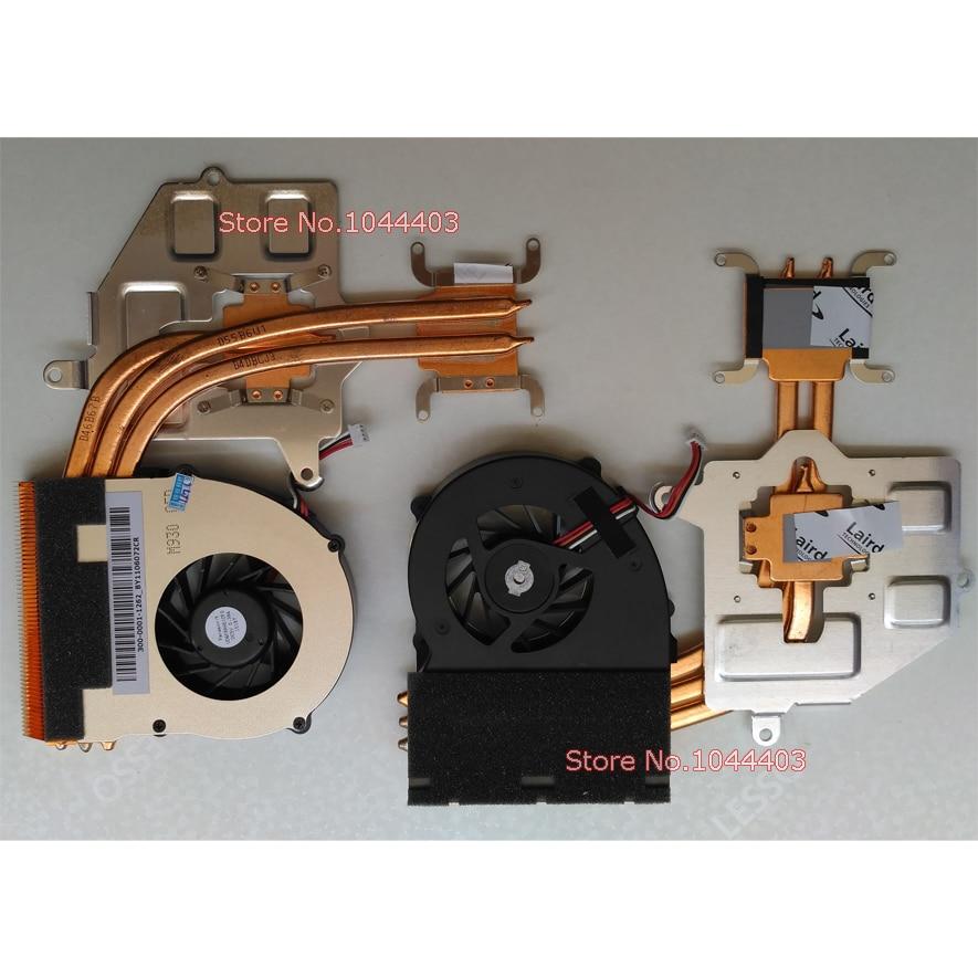 Original New CPU Laptop Cooling Fan & Dissipador de Calor para Sony vaio VPC F11 F111FD F111FX F112FX VPCF11 VPCF111FD VPCF111FX VPCF112FX